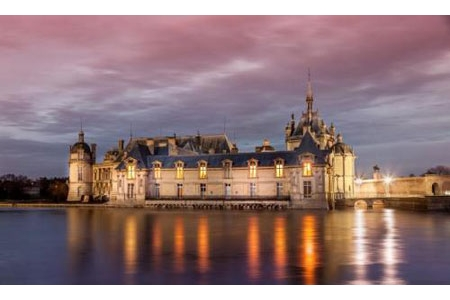 Excursion to the castle of Chantilly